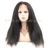 Parrucche umane diritte crespe dei capelli di Remy per le donne