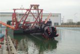 1100 M3/Hour容量の油圧か引きずるホッパーまたは砂のカッターの吸引の浚渫船