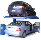 Столб горячего сбывания одиночный 2 автомобиля слоя подъема стоянкы автомобилей