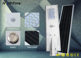 Installation facile Téléphone intelligent APP contrôlée solaire LED feux de route