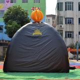 Petit gris gonflable tente de camping pour la commande show