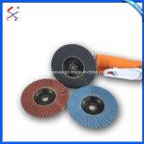 Abrasivos revestidos de disco de la trampilla de ajustables para metal