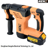 Nenz Rotary Hammer Compact Cordless Power Tool con Lithium Battery (NZ80)