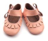 Barato por grosso de couro de modacalçado de criança lactente adoráveis meninas de calçado
