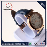 Qualitäts-Armbanduhr-Leder-Armband-Dame-Uhr-Quarz-Uhr (DC-1372)