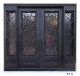 Sidelites를 가진 유럽식 현대 디자인 철 등록 문