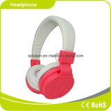 Colorido auriculares estéreo al aire libre con altavoz