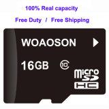 Capacidade total de alta qualidade e de alta velocidade de 4 GB 2 GB 8 GB de 16GB, 32GB Micro SD de 64 GB/Cartão de memória SD