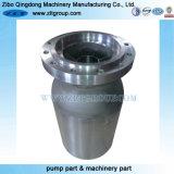 La pompa ad acqua dell'acciaio inossidabile che lancia i pezzi di ricambio con lo strato smaltato/ha verniciato