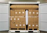 Vermijd de Schade van het Vervoer vullen het Luchtkussen van het Stuwmateriaal van het Document van Kraftpapier