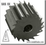 Inlay HSS Placa de partículas de metal de madeira Flaker Pelletizer Blades de giro da lâmina da faca da máquina/Cortador de Rotor para reciclagem de plástico