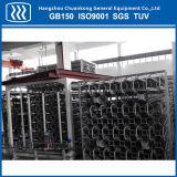 Station de Gaz LNG vaporisateur chauffé de l'air en aluminium