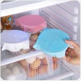 Multifonction réfrigérateur de film étirable réutilisable Food Housse de rangement Cuisine couvercle vide d'étanchéité silicone Saran Wrap Sac frais