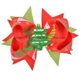 De met de hand gemaakte Kleurrijke Toebehoren van het Haar van Kerstmis van de Boog van het Lint