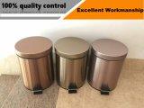 ホームおよびホテルのための12Lステップタイプ高品質のステンレス鋼のゴミ箱