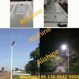 Proyecto del gobierno 5 años de período de garantía con el fabricante ligero solar de la iluminación LED del CRI de la calle del panel solar LED de la eficacia alta