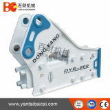 Yantai-seitlicher Typ hydraulischer Hammer-Unterbrecher für Exkavatoren