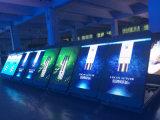 Haute luminosité P5 Vidéo pleine couleur panneau LED verticales (640*960mm)