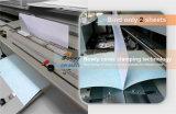 440mm3 de tamaño de papel A4 perfecta de adhesivo termofusible obligatorio Booklet Maker que hace la máquina