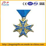カスタム高品質のラグビーのComprtionの金属メダル