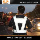 Da visibilidade elevada reflexiva elevada da veste da segurança da visibilidade do engranzamento veste reflexiva RV-A19-001