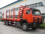 Sinotruk HOWO 6X4 Woodeの輸送のトラック