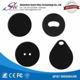 産業洗濯管理受動RFID洗濯の札