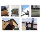 堅いシェル車の上の屋根のテントのトリップキャンプの容易なポータブル