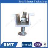 Panneau solaire en aluminium fin bride pour montage solaire