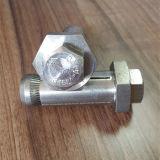 Connexion de partie métallique de Boxbolt fixant le boulon sans visibilité
