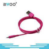 혼합 색깔 지능적인 전화를 위한 마이크로 번개 USB 데이터 케이블