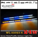 Policeのための赤いWhite Amber LED Arrow Stick Warning Directional Light