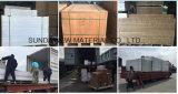Fabricante profesional de alta densidad de la junta de espuma de PVC blanco