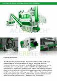 Desfibradora del EPS para los terrones grandes/los cubos de basura empilados/Pellats