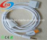 Высокое качество 1,2 м автомобильная аудио кабель для iPhone