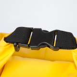Saco seco ajustado logotipo personalizado da trouxa impermeável do esporte ao ar livre de cinta de ombro