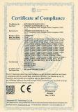 Conector impermeable del CCTV BNC de la compresión masculina para Rg59 (CT5078S/RG59)