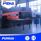 Máquina de perfuração hidráulica da torreta do CNC para o carimbo do furo da placa de aço