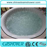 6人の携帯用マッサージの浴室のプールの鉱泉(pH050011灰色)