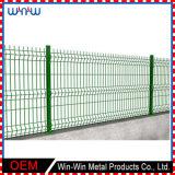 La manera diseña la cerca temporal del jardín vegetal del patio trasero del metal de la seguridad verde de los estilos