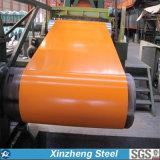 PPGIは人気のあるカラーの電流を通された鋼鉄コイルをPrepainted