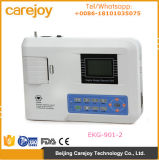 12 dérivations ECG à canal unique Machine électrocardiographe Javier