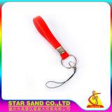 Fördernde Geschenke Belüftung-Gummischlüsselkette, kundenspezifisches Plastiksilikon Keychain