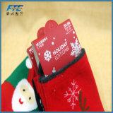 El pegar del bebé del ornamento del regalo de la Navidad del bolso del regalo de la Navidad