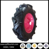 Camión de mano de la rueda de goma de neumático de aire 16'' para los neumáticos tranvía