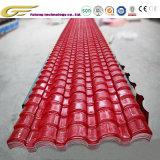 Les matériaux de construction retardateur de flamme colorée Corrosion-Resistant tuile en résine