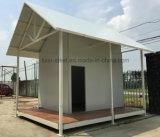 Pequeña casa prefabricada del bajo costo para las víctimas y la gente pobre