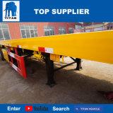 Aanhangwagen van de Container van de Structuur van het Frame van het Voertuig 3axles van de titaan 40FT Flatbed