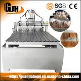 4 Mittellinie CNC-Fräser-Maschine für Stich 3D (DT8025-6)