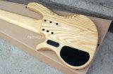 Hanhai Music / 6 cordes en bois naturel en couleur basse basse électrique
